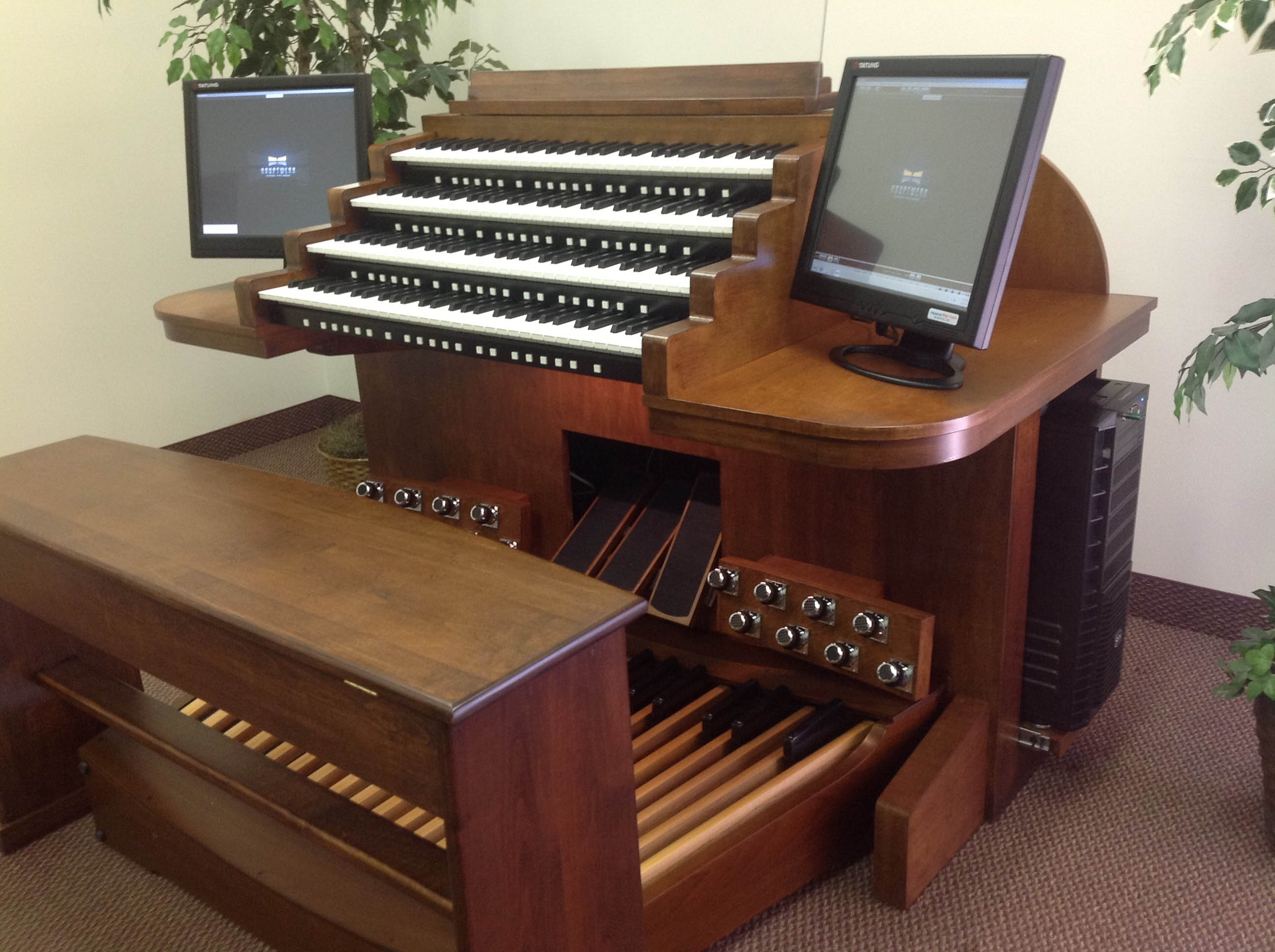 4 Manual organ Console for Sale